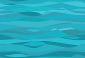 Seamless water pattern