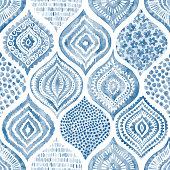 Seamless watercolor pattern.