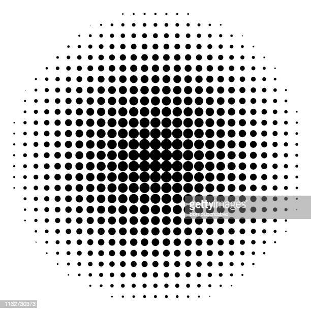 seamless white paper with black dots - symmetry stock illustrations