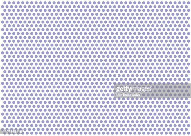 seamless white paper with purple dots - hole stock illustrations