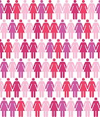 Seamless Women Pattern