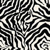 seamless zebra skin fabric texture