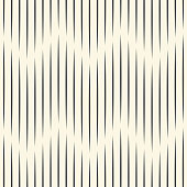 Seamless Zig Zag Pattern. Abstract Black and White Background. Vector Lined Texture
