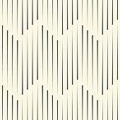 Seamless ZigZag Background. Minimal Striped Design
