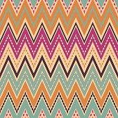 Seamless zigzag pattern geometrical background