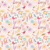 Seamless_Playful_Collage_Pattern_Sweet_Dreams_Pink_Background