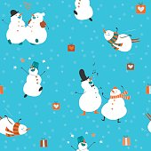 Seamless-pattern-funny-dancing-snowmen-01