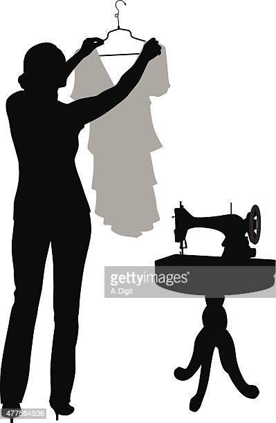 裁縫洋服お直し事情 - updo点のイラスト素材/クリップアート素材/マンガ素材/アイコン素材