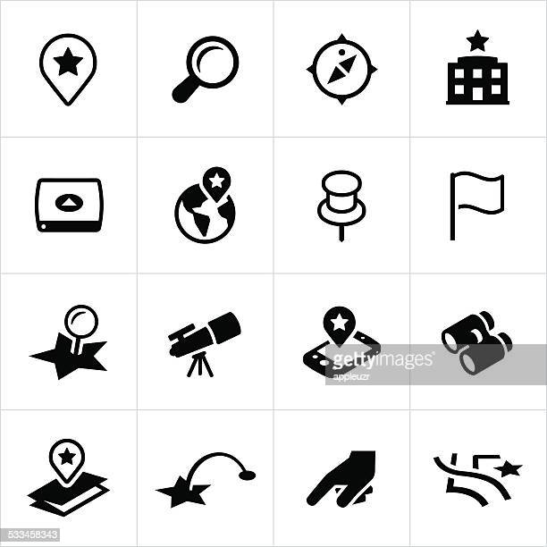 search and locate icons - reveal stock illustrations, clip art, cartoons, & icons