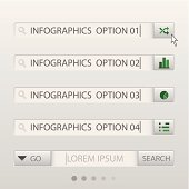 Search Box Infographic Design Template