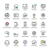 Search Engine and Optimization Icons
