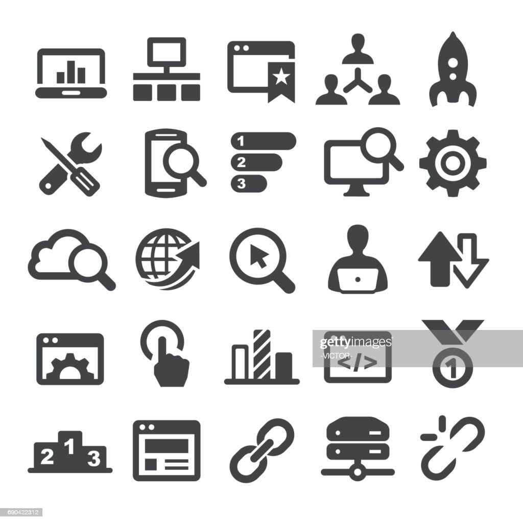 Search Engine Icons - Smart Series