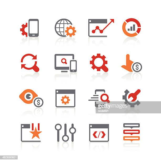search engine optimisation icons | alto series