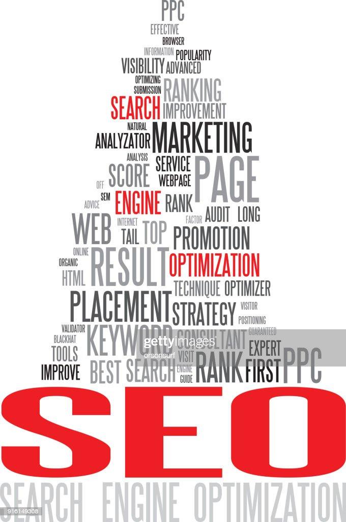 SEO - Search Engine Optimization poster