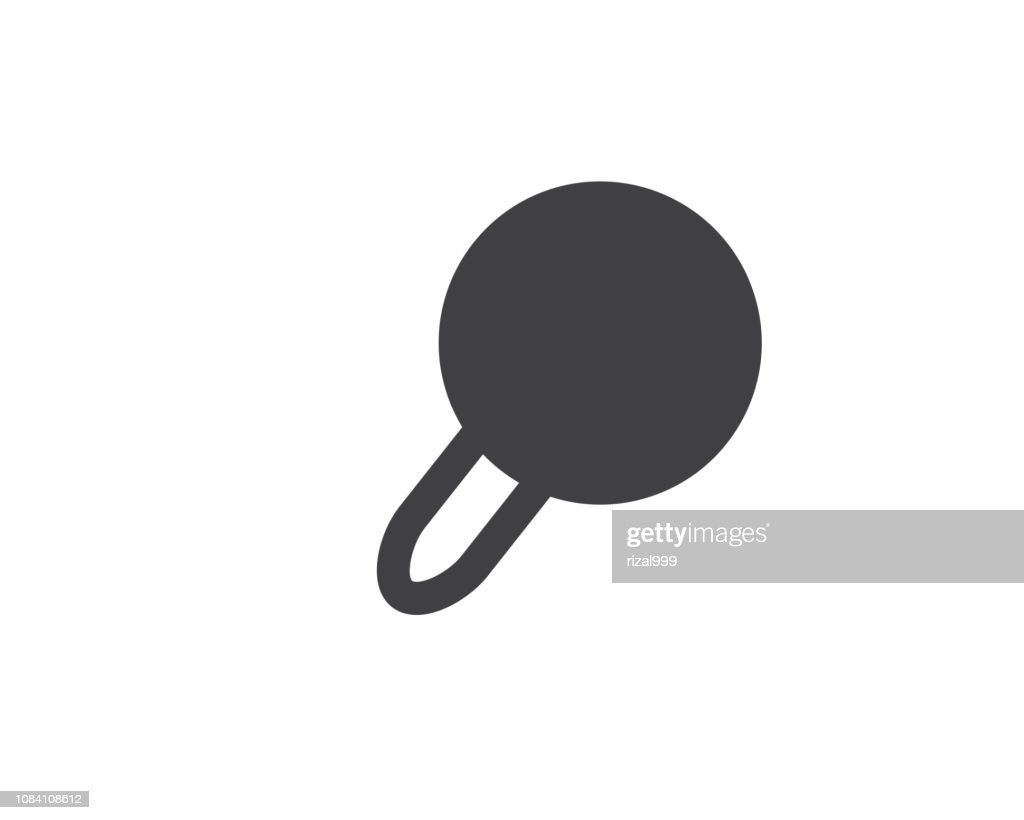search glyph solid icon illustration vector,find icon illustration