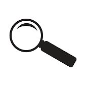 search icon isolated vector
