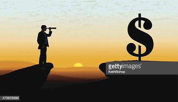 searching for new business background - the grass is always greener stock illustrations, clip art, cartoons, & icons