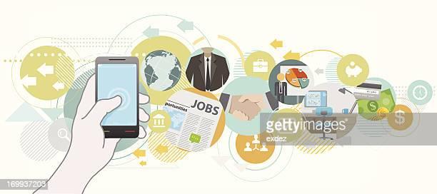Suche job von mobile