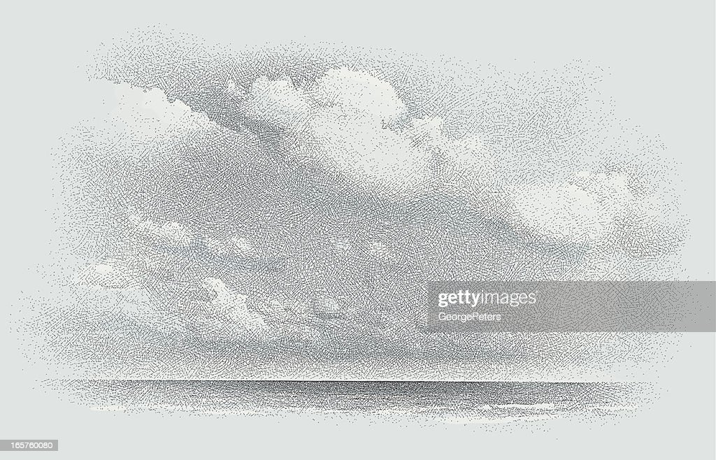 Seascape and Cloudscape Etching