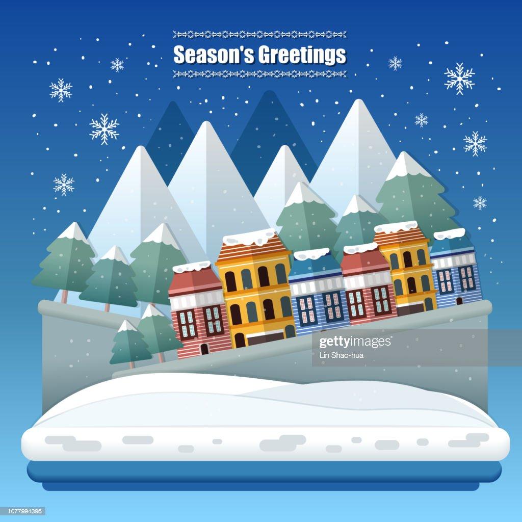 season greetings concept