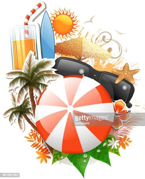season sign - orange juice stock illustrations, clip art, cartoons, & icons