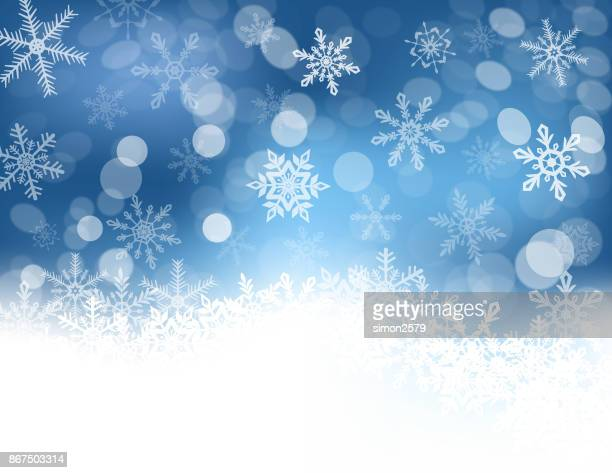 seasonal snowflake background - christmas travel stock illustrations, clip art, cartoons, & icons