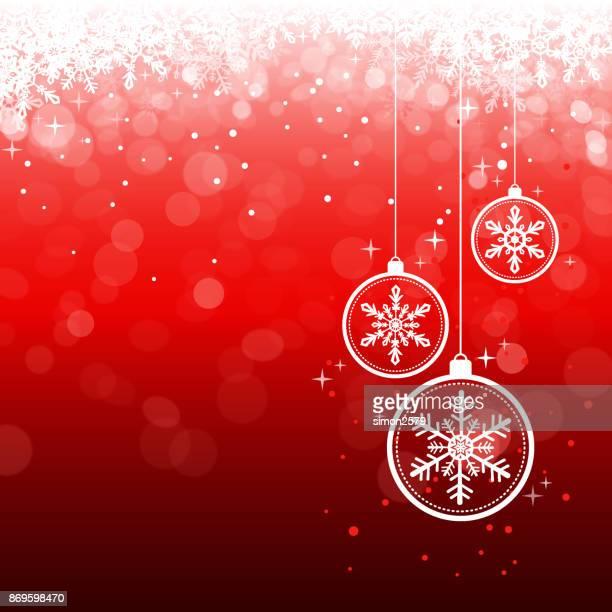 Seasonal Snowflake Background