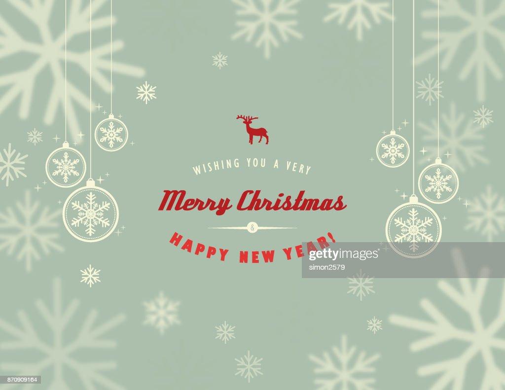 Seasonal Snowflake Background : stock illustration