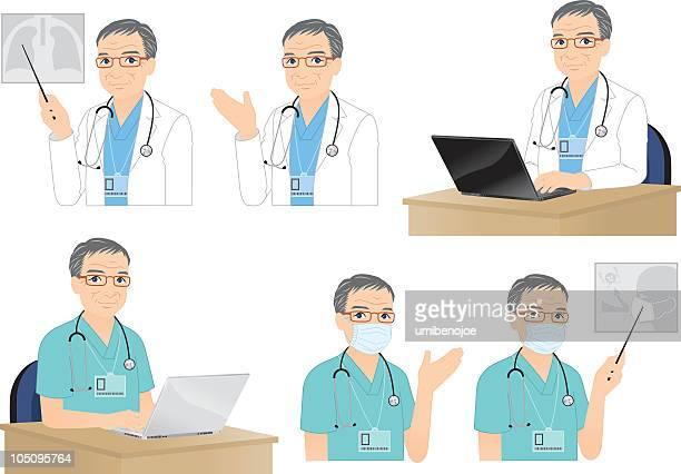 熟練の医師ます。