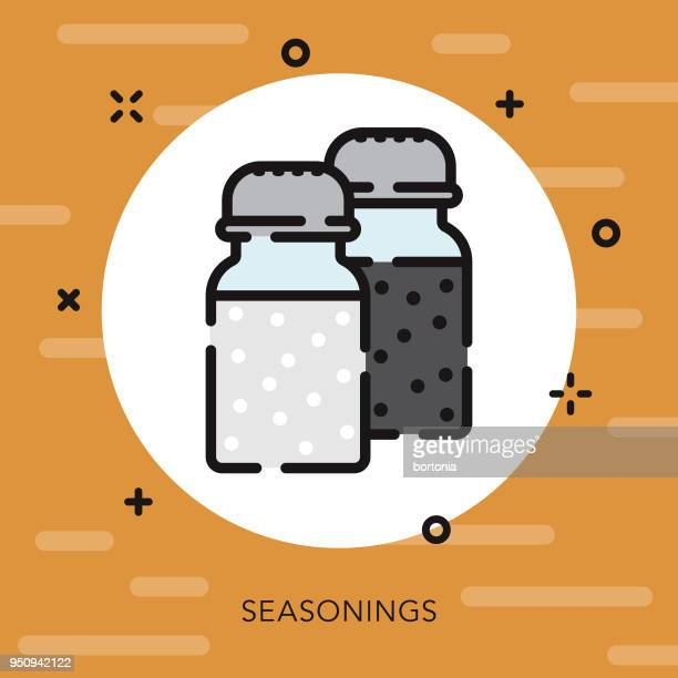 Seasoning Open Outline Thanksgiving Icon