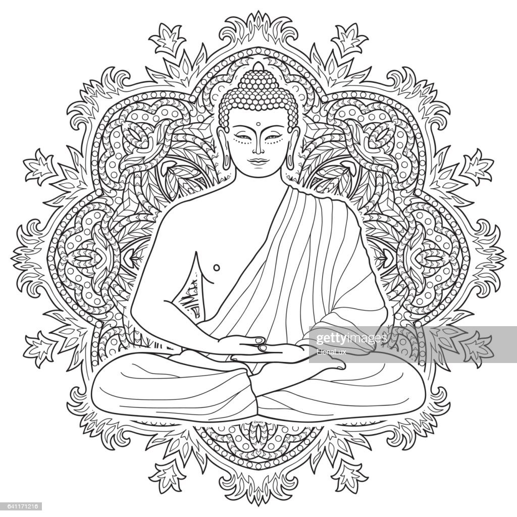 Seated meditating Buddha