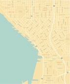Seattle Downtown Map