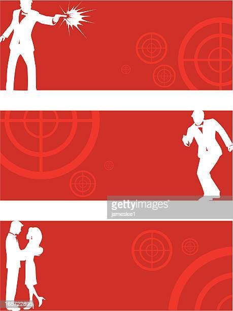 Secret Agent Banners