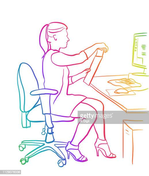 Secretary Posting Letter Rainbow