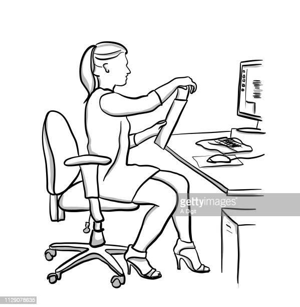 Sekretärin Posting schreiben