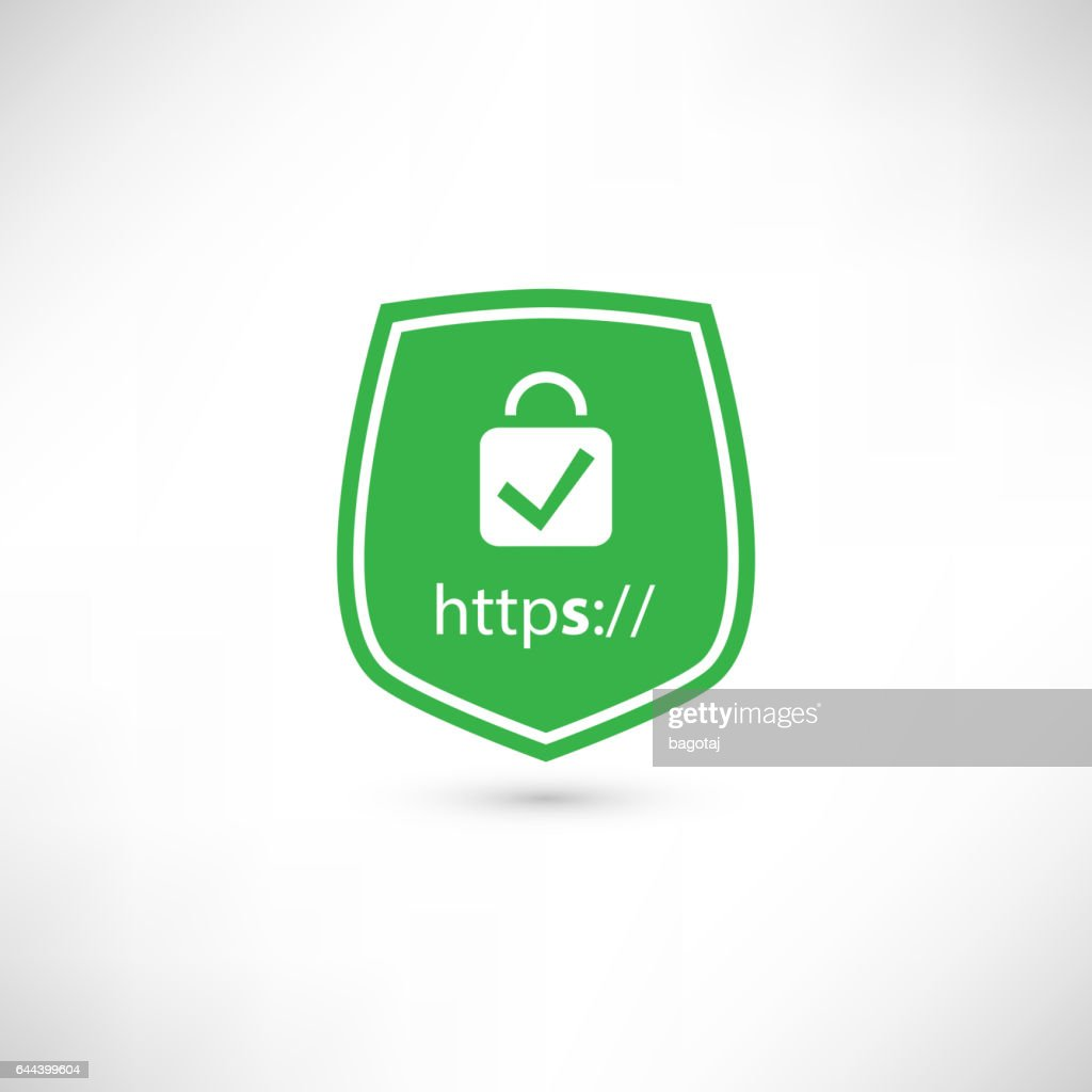 Secure Website Certificate Badge Stock Illustration Getty Images