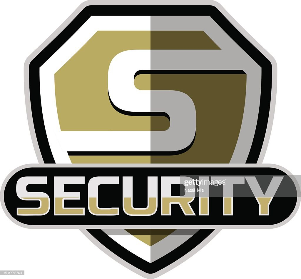 Security Badge Vector Template Vector Art Getty Images