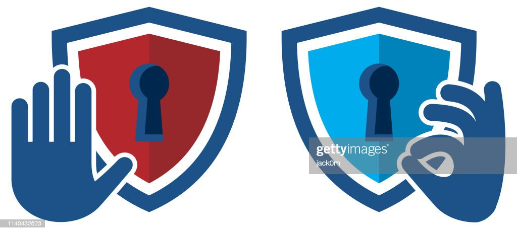 Security Check Icon : stock illustration