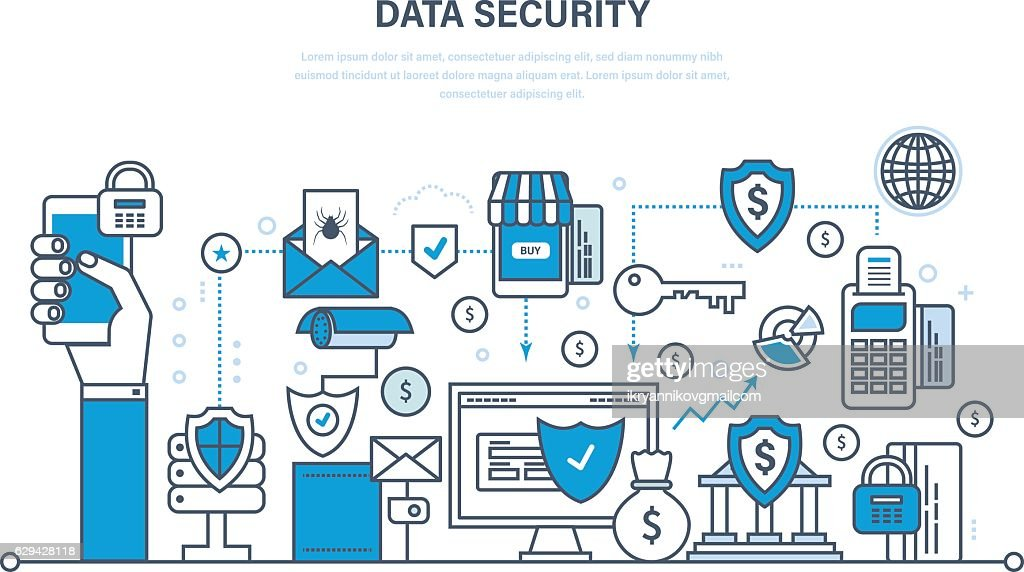 Security, data integrity, deposits, guarantee