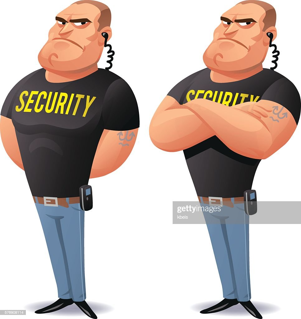 security guard stock illustrations and cartoons getty images