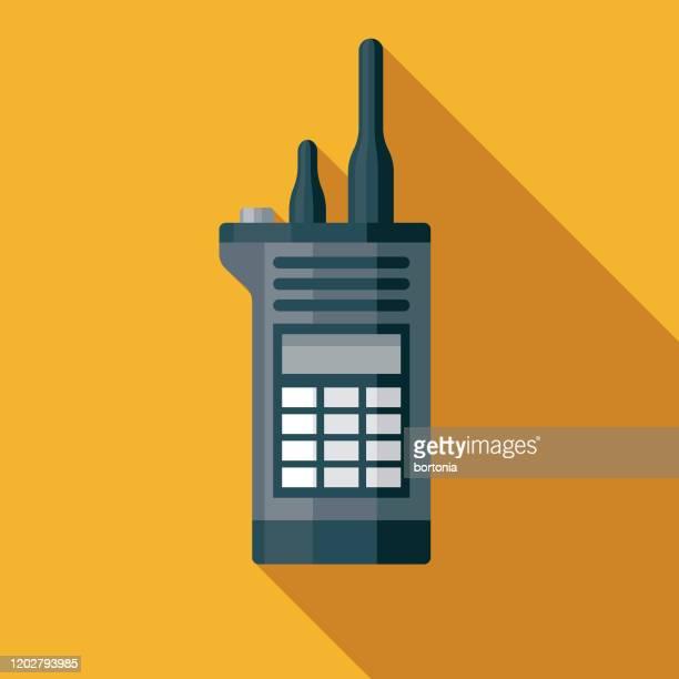 security guard walkie talkie museum icon - museum stock-grafiken, -clipart, -cartoons und -symbole