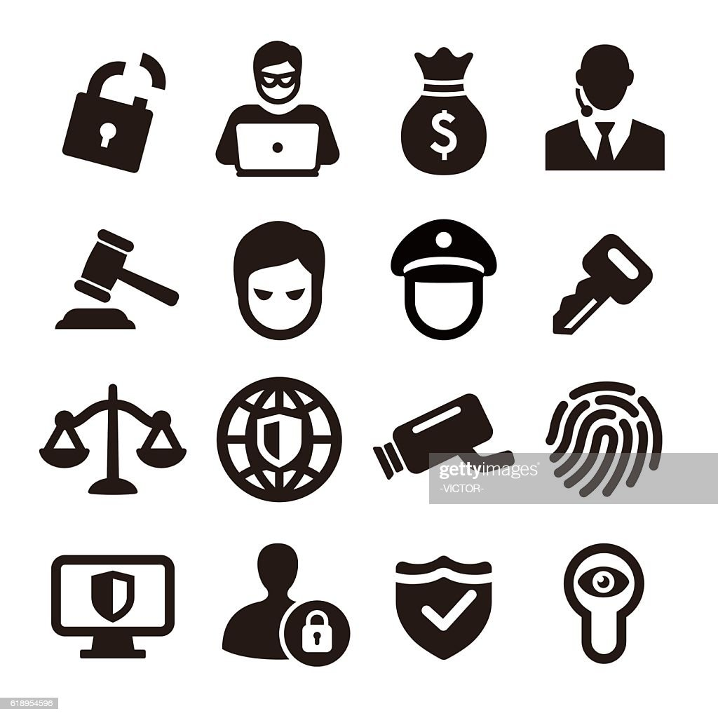 Security Icons - Acme Series : stock illustration