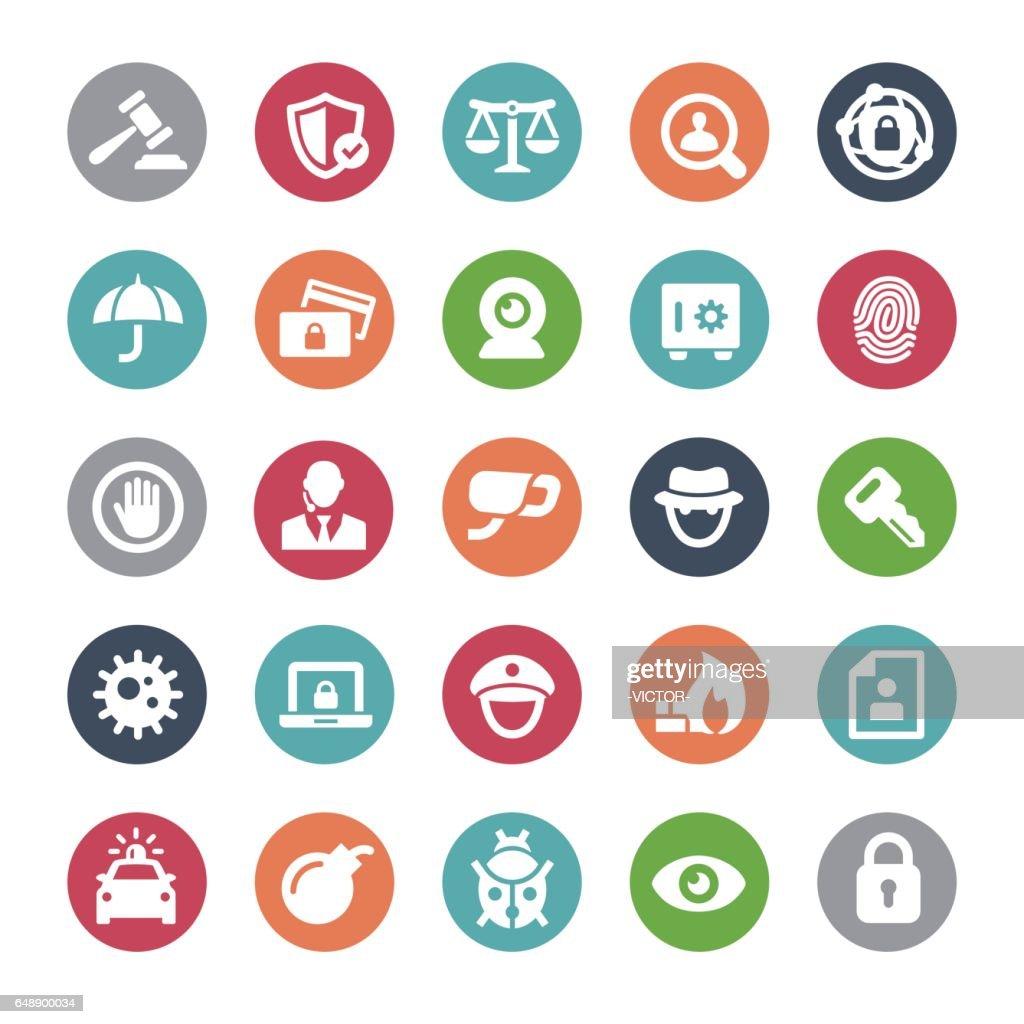 Security Icons - Bijou Series