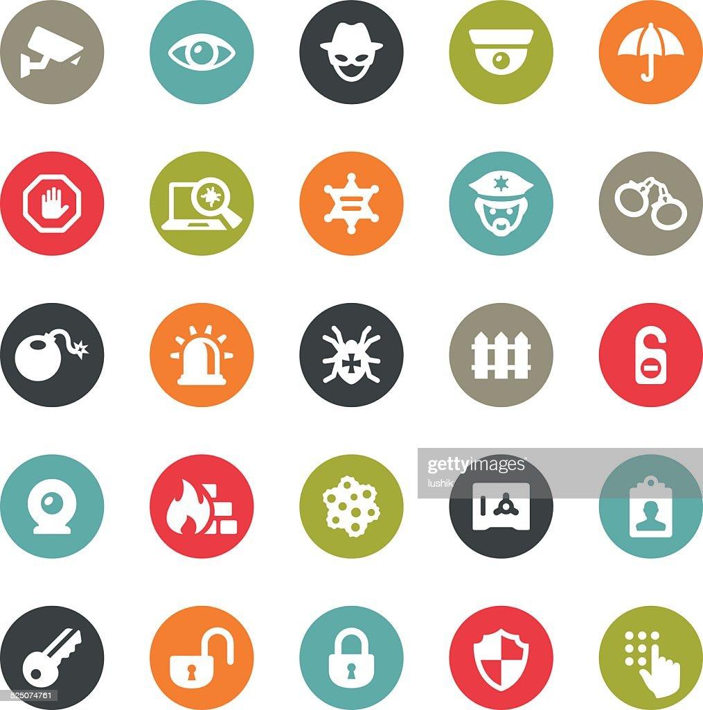 Security icons / Ringico series