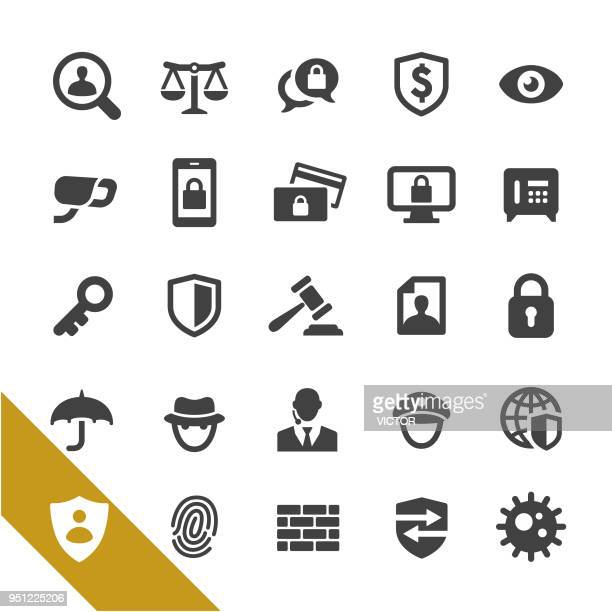 Security Icons - Select Series