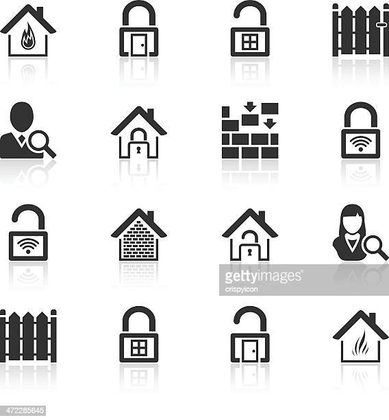 security icons - closed stock illustrations, clip art, cartoons, & icons