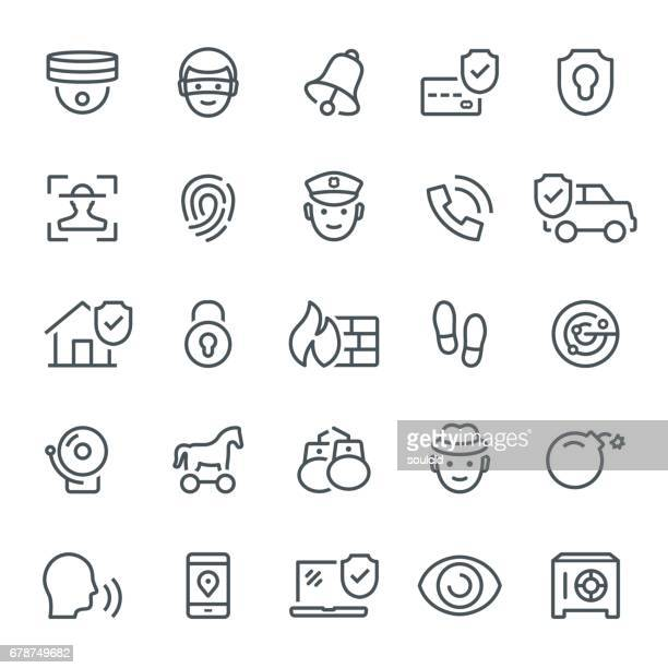 security icons - verification stock illustrations, clip art, cartoons, & icons