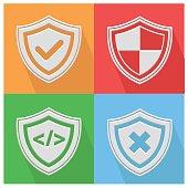 Security icon,vector