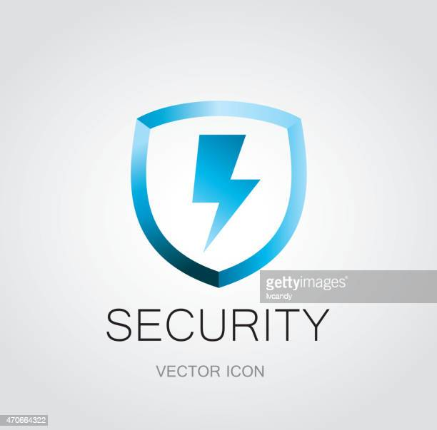 Security Hut Symbol: Schutzschild Vektorgrafiken Und Illustrationen