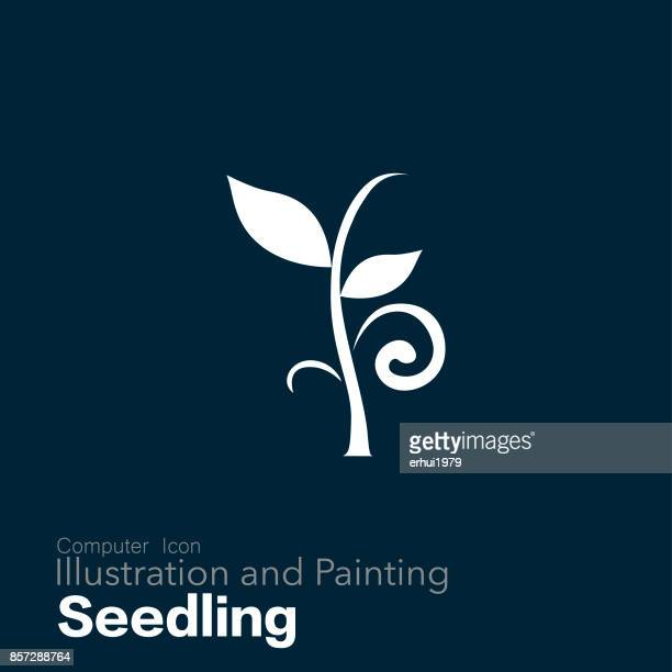 seedling - seedling stock illustrations